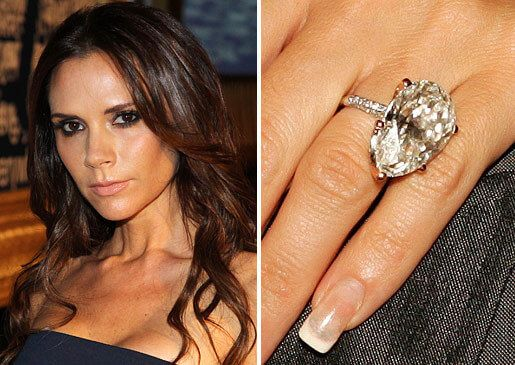 Victoria Beckham Engagement Ring Google Search Celebrity