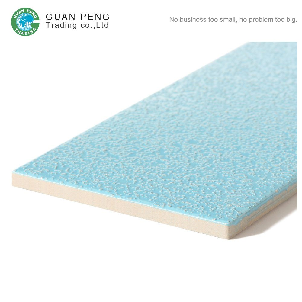 Anti slip ceramic wall cheap swimming pool tile bule for - Non slip tiles for swimming pools ...