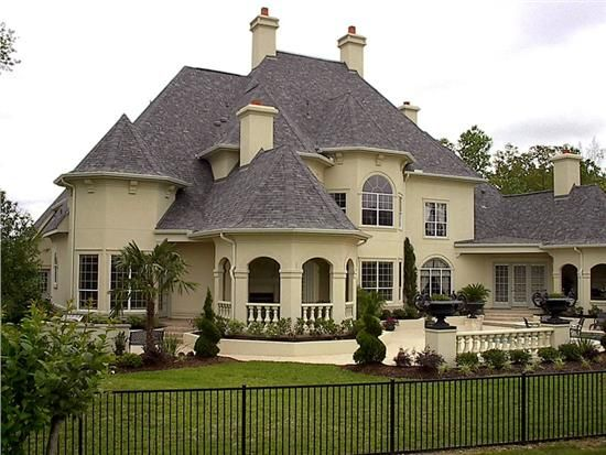 lovely old world design in this large home - Old World Design Homes