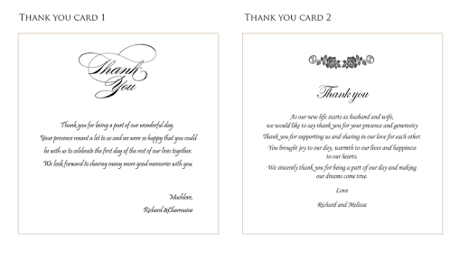 Image Result For Thank You Cards Wedding Wording Wedding Thank You Cards Wording Thank You Card Wording Wedding Thank You Wording