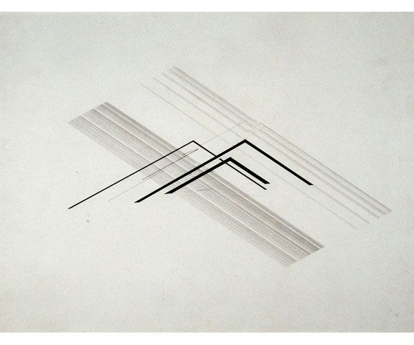 Nasreen Mohamedi: Lines among Lines