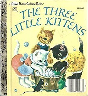 Image Result For The Three Little Kittens Little Golden Book Image Little Golden Books Childhood Memories Childhood Books