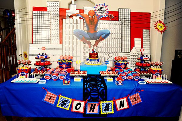 Tavolo Compleanno Uomo : I temi più amati per le feste di compleanno dei bambini feste