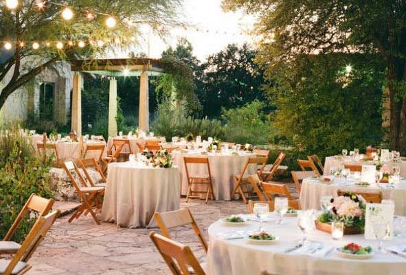 Outdoor Wedding Reception Decorations 09