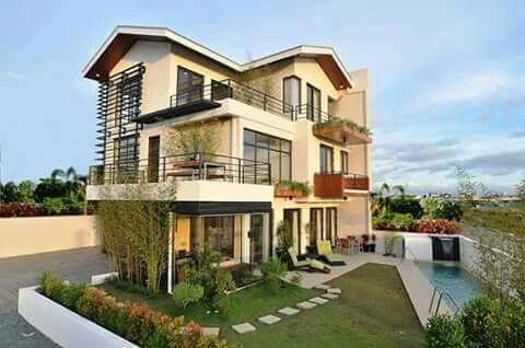 Too modern like the idea cool house designs small design also dream pinterest casas rh ar
