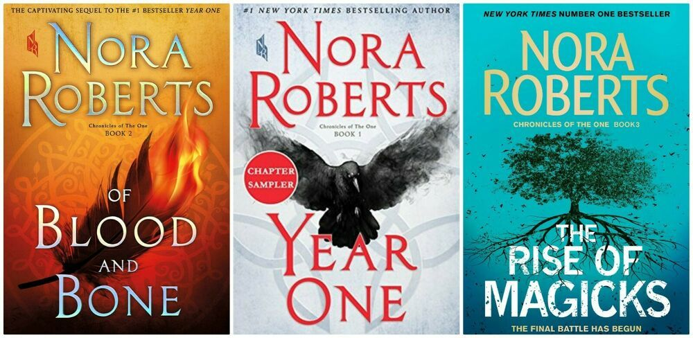 Chronicles of The One Series by Nora Roberts ePub Kindle | Vampire books,  Horror books, Nora roberts