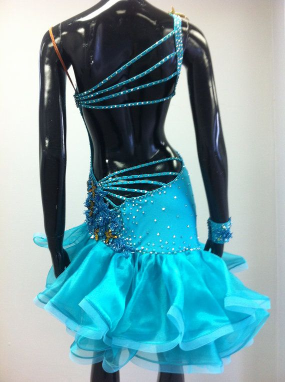 Bailes latinos vestidos de baile vestidos de por DesignByNatasha