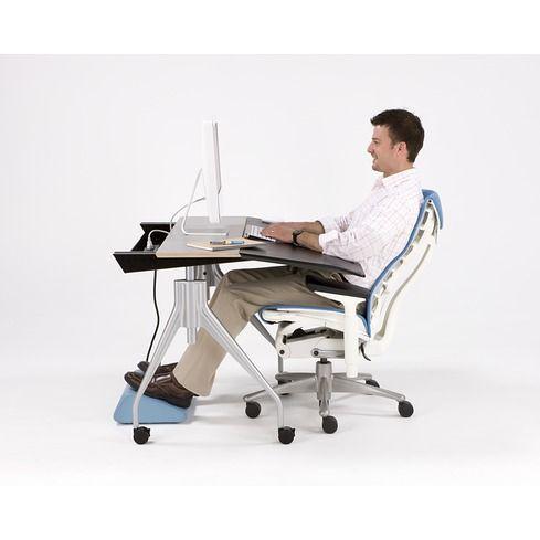 Herman Miller Envelop Desk, Reclined Position