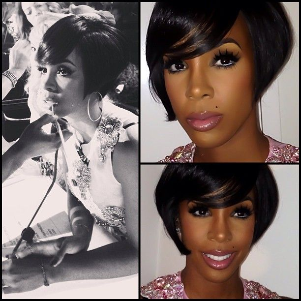 Xfactor Motown Kelly Kightlinger Rowland Truly Blessed To Do What I Love Everyday Cute Hairstyles For Short Hair Kelly Rowland Hair Short Hairdos