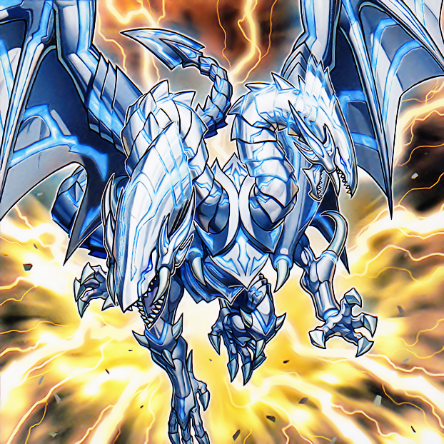 Blue-Eyes Twin Burst Dragon By 1157981433