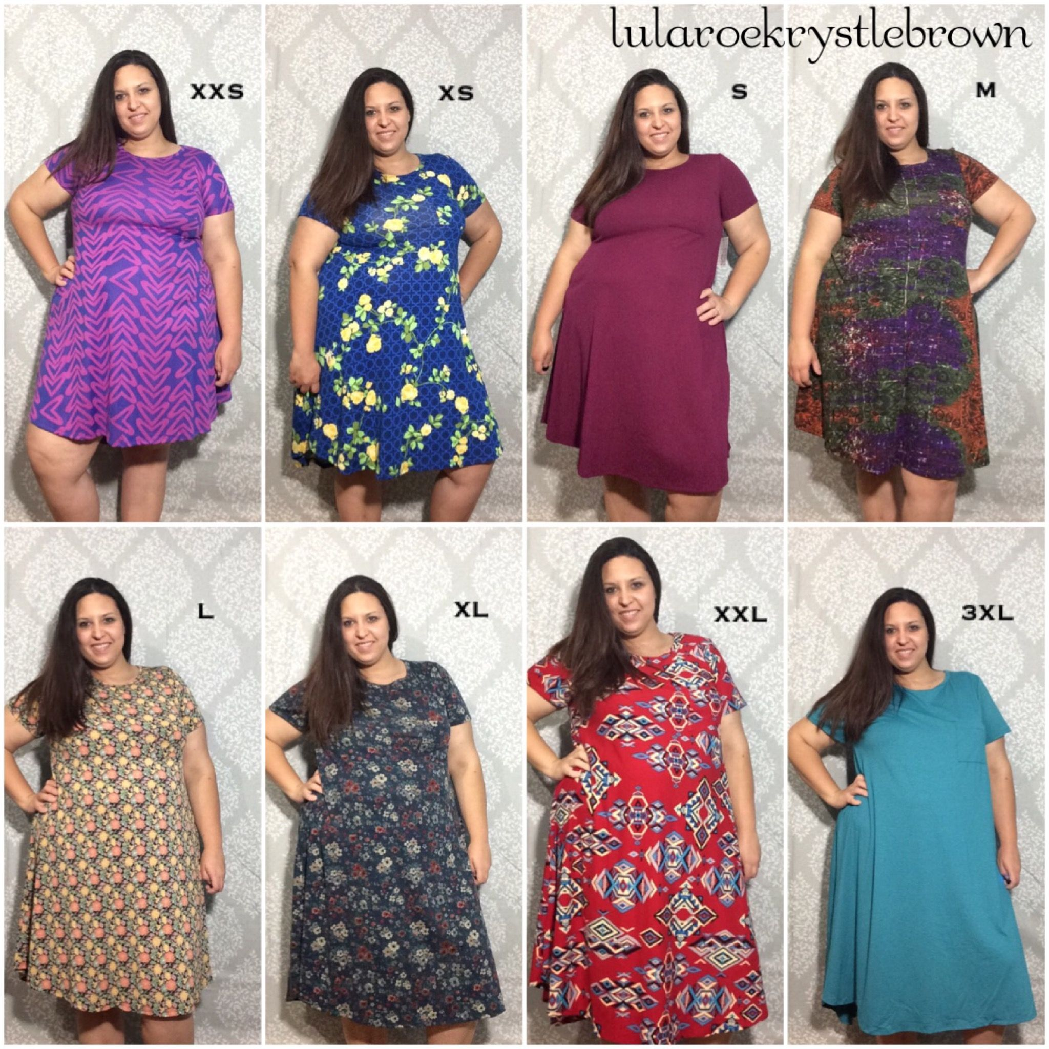 b1c1dea6a27db LuLaRoe Carly styling, LuLaRoe Carly sizing, plus size, swing dress  #lularoekrystlebrown