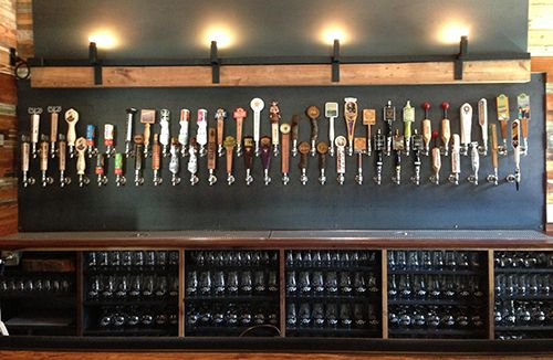 Craft Pride Tap Wall Beer Pinterest Bar Beer And