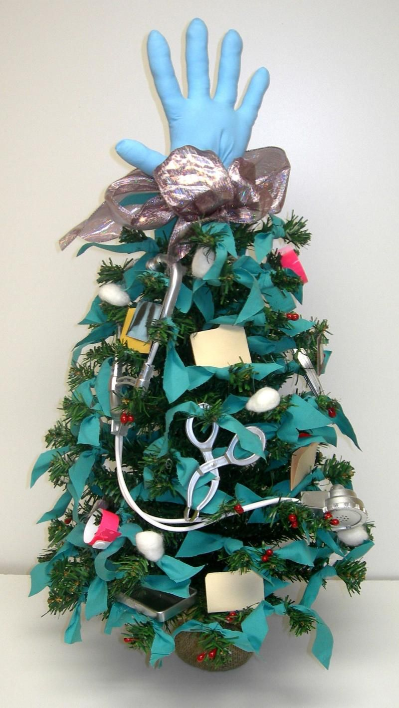 Medical Theme Christmas Tree Good To D 39 Cor Inc