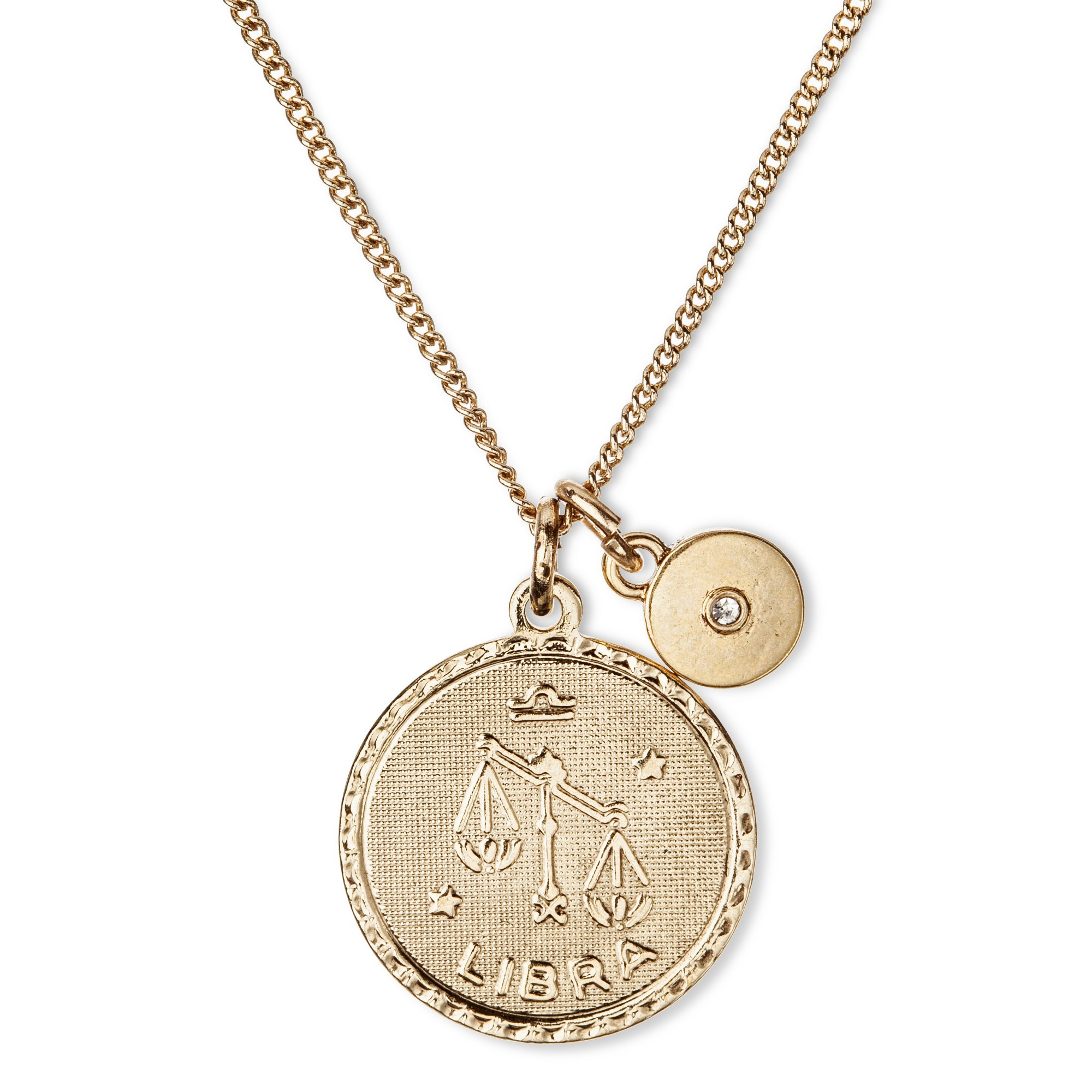 it hand just bead stamped product constellation necklace zodiac libra white