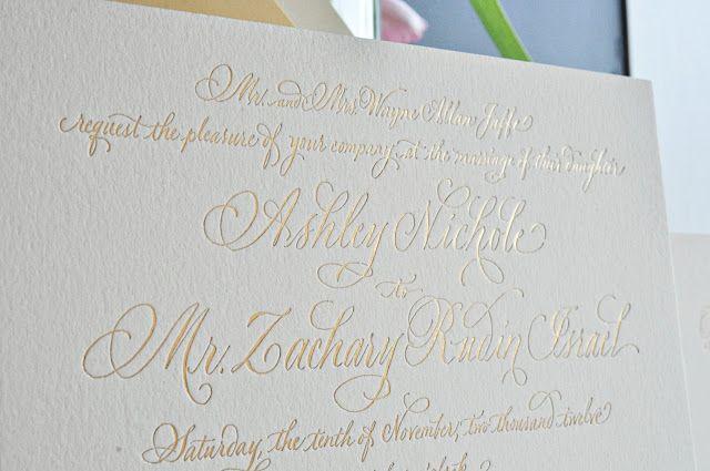 Calligraphy by elizabeth porcher jones type