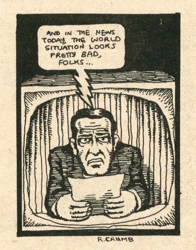 in the news today… R. Crumb | Robert crumb, Vintage comics, Comic ...