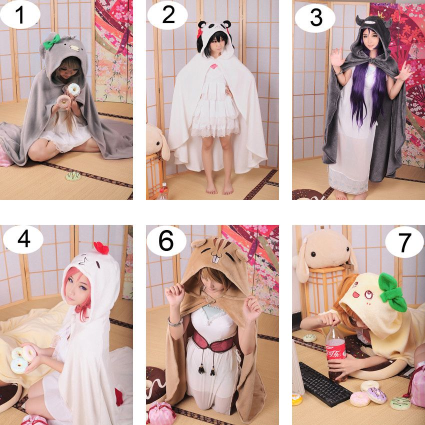 LoveLive Cartoon Cloak Air Conditioning Blanket Anime