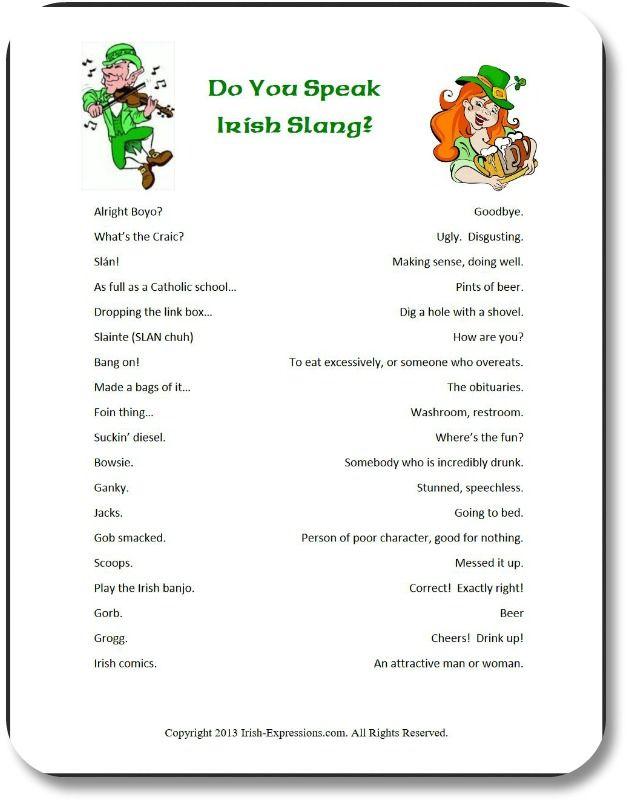 Irish Team Names : irish, names, Irish, Party, Games:, Entertain, Guests, Expressions, Side!, Patrick's, Games,, Drinking,, Theme