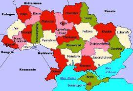Resultado De Imagen Para Mapa Politico De Ucrania Ucrania Mapas