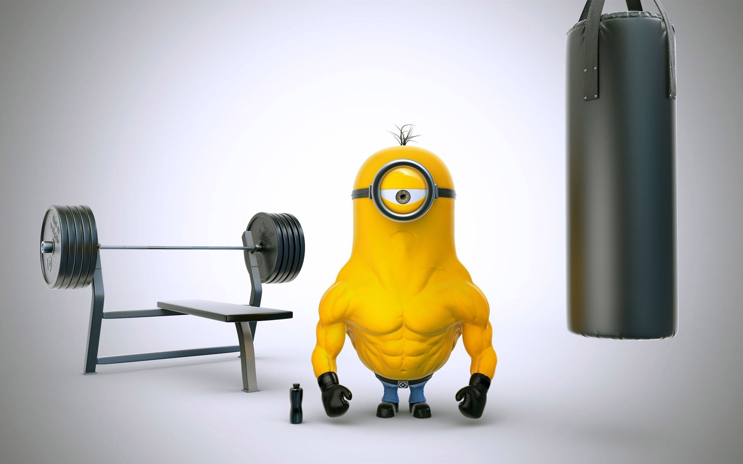 body builder minion is another character in minions the hd animated