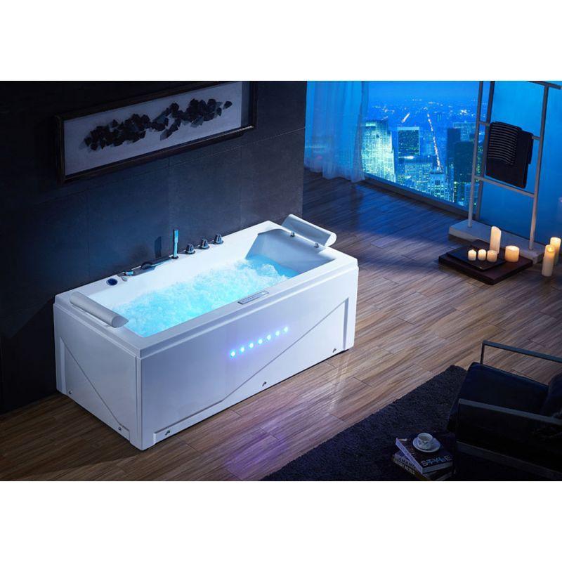 baignoire baln o rectangulaire u islande whirlpool 48 jets baln o pinterest baignoires. Black Bedroom Furniture Sets. Home Design Ideas