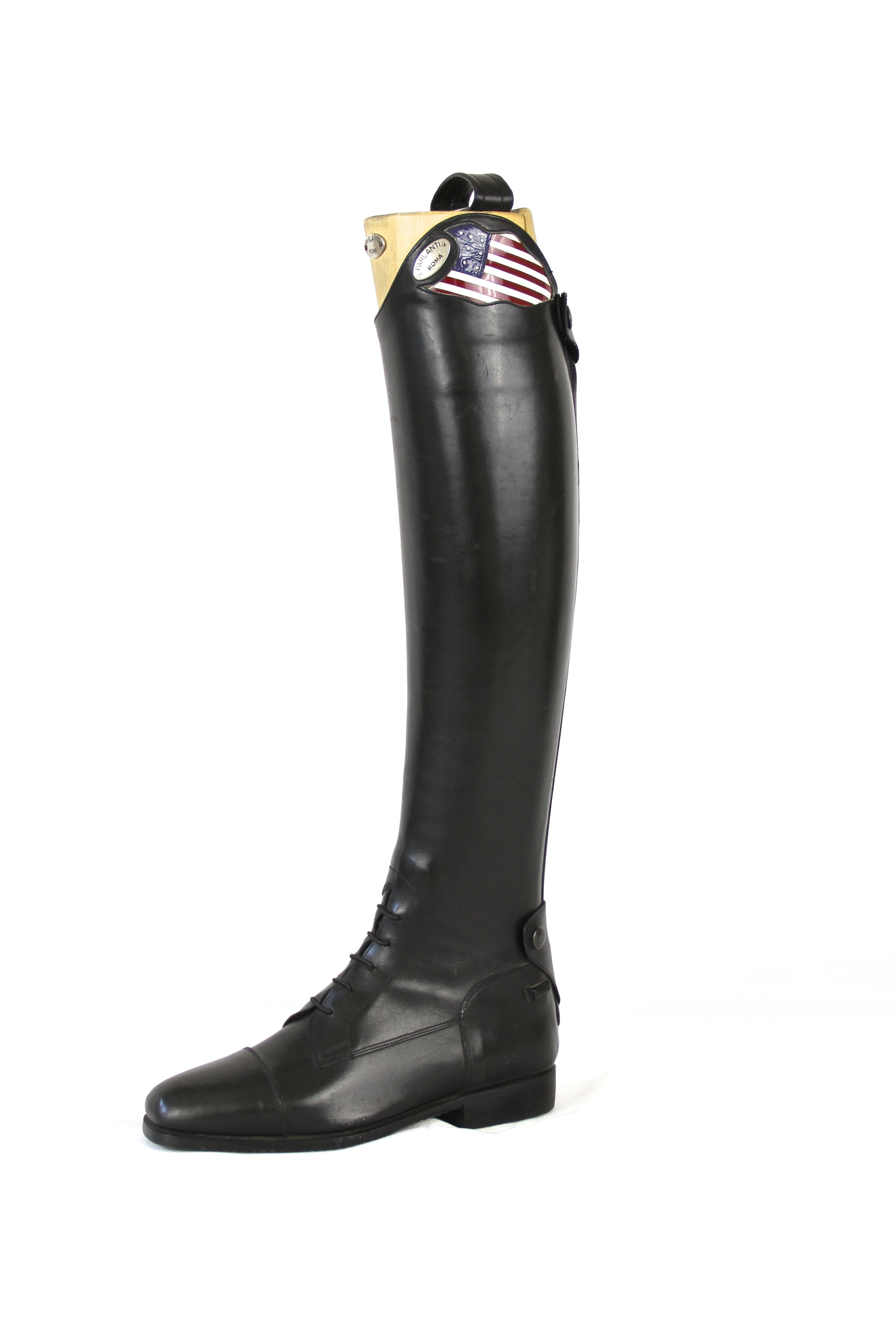 Parlanti American Flag With Swaroski Stars Boots Rubber Rain Boots Equestrian Boots