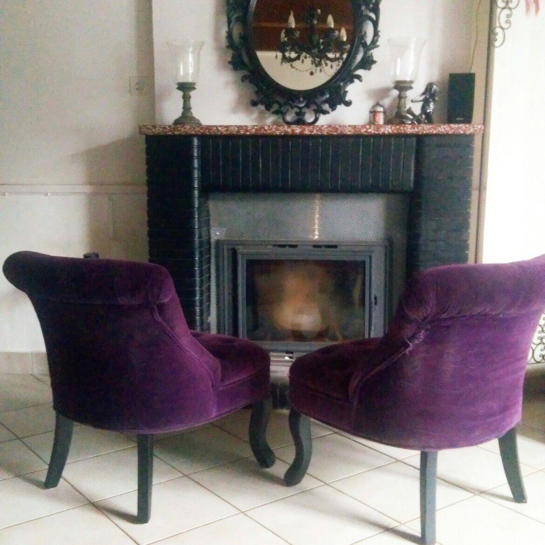 Chambre Baroque Noir Et Violet salon violet noir baroque gothique loreleyland | salons