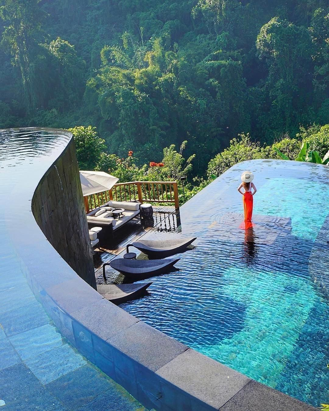 Best Honeymoon Places Bali: Hanging Gardens Of Bali, Ubud, #Regram @we.love.hotels