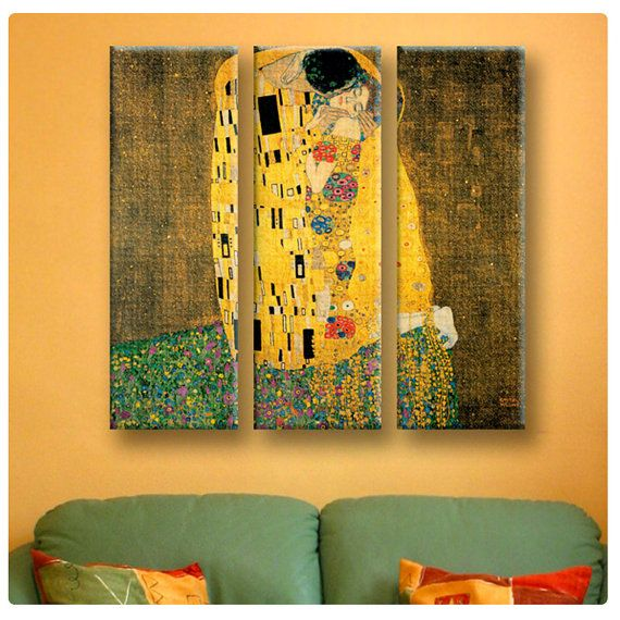 Just Bought This Gustav Klimt The Kiss On Etsy And Great