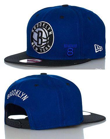 Royal Blue Black Brooklyn Nets Snapback  c26186985d8