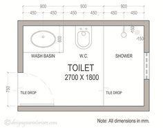 Small Bathroom Dimensions  Google Search  Design  Bathrooms Enchanting Dimensions Small Bathroom Decorating Inspiration
