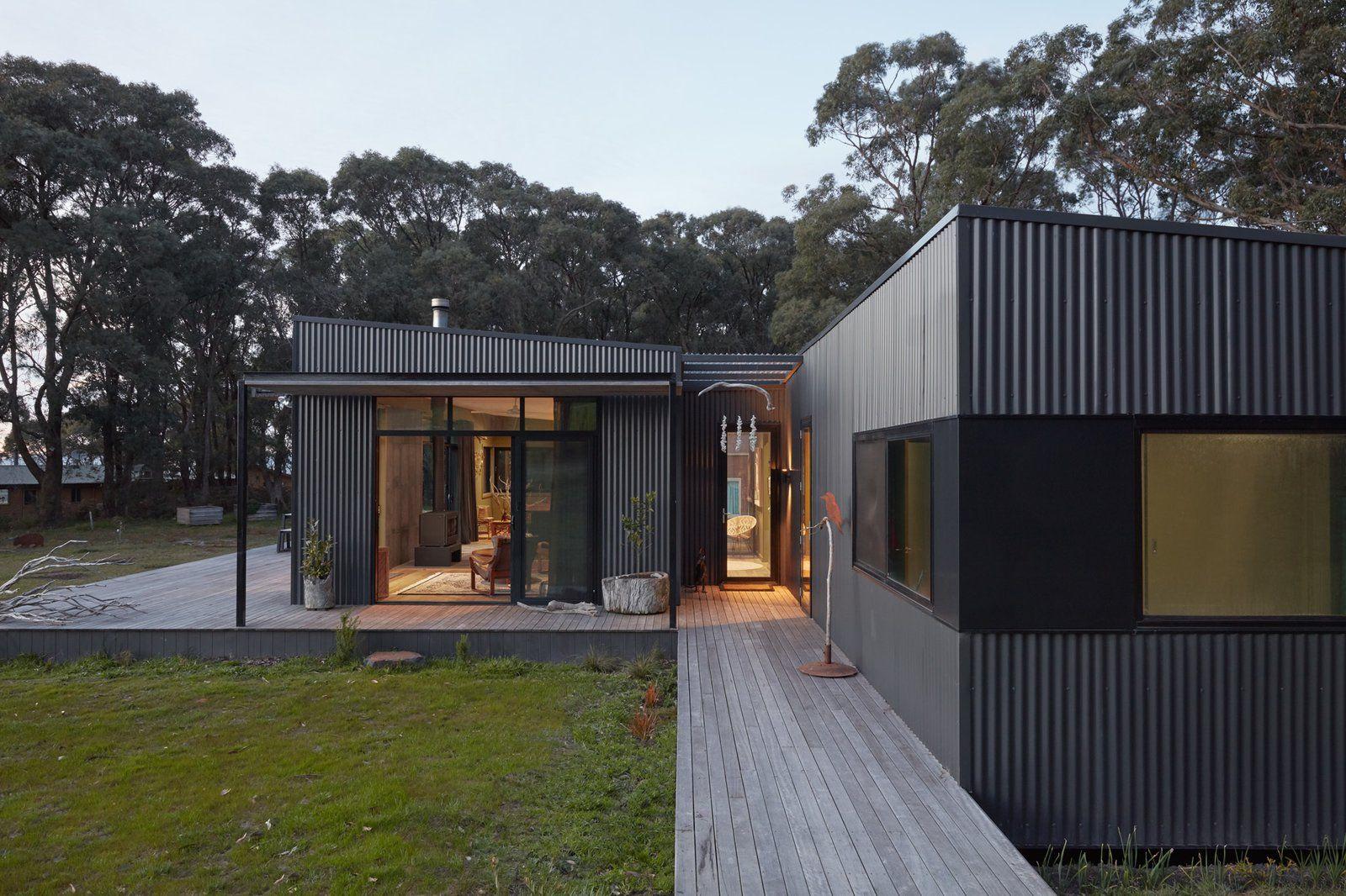 Fish Creek House By Archiblox Sustainable Steel Prefab Prefab