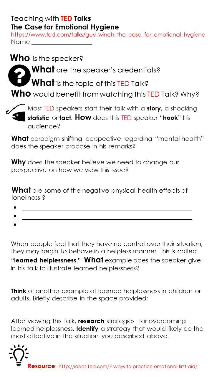 An Education Blog Focusing On High School Social Studies Ted Talk
