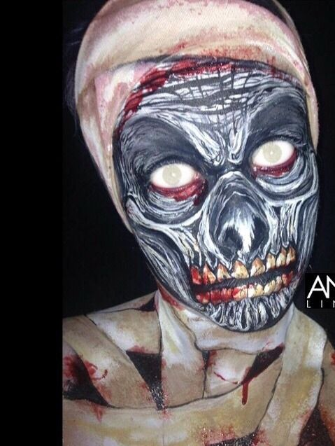 ▷ Maquillaje de Halloween Fácil ⇒ Ideas Sencillas Para Inspirarte - halloween horror makeup ideas