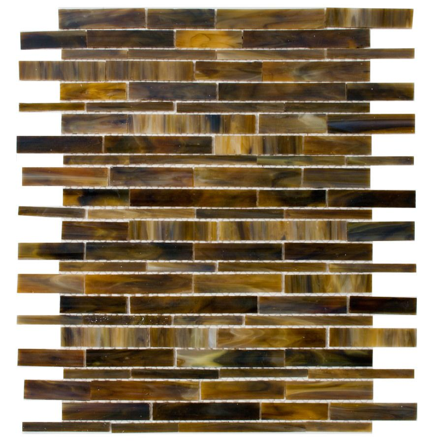Shop Elida Ceramica Tortis Seashell Glass Mosaic Indoor Outdoor Wall Tile Common 12
