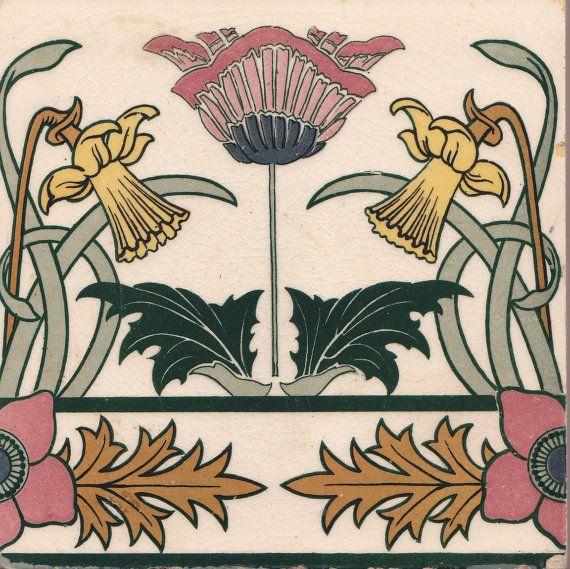 Pin by Rae Aaron on ART NOUVEAU | Art nouveau tiles, Art ...
