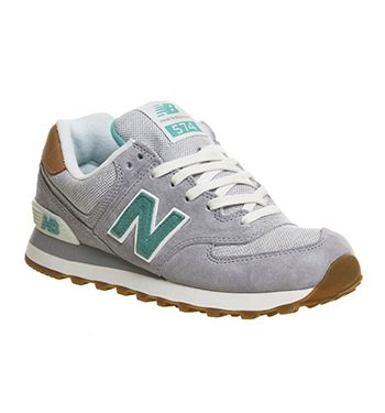574 | Damen, New balance 574 grau