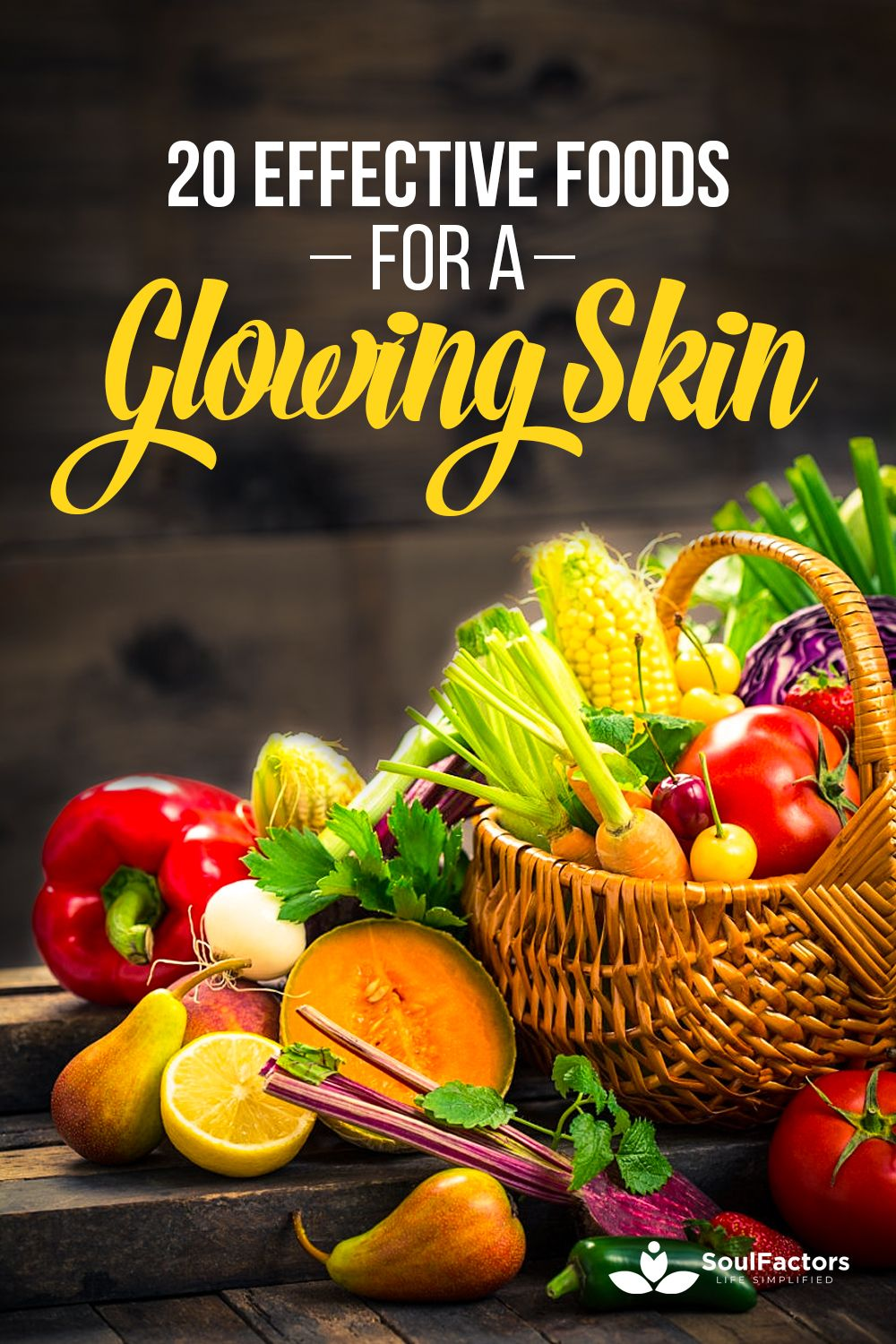 Best foods for glowing skin in 2020 Food for glowing