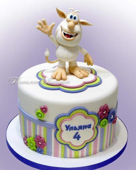 List Of Pinterest Booba Cartoon Cake Images Booba Cartoon Cake Pictures Unicorncake Cartoon Cake Cartoon Birthday Cake Birtday Cake