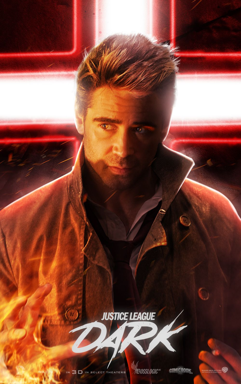 Here's What Colin Farrell Could Look Like As Constantine