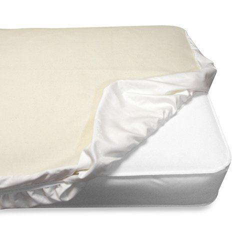 Naturepedic Organic Waterproof Fitted Crib Pad Cover Organic Crib Mattress Waterproof Crib Pad Crib Mattress Pad