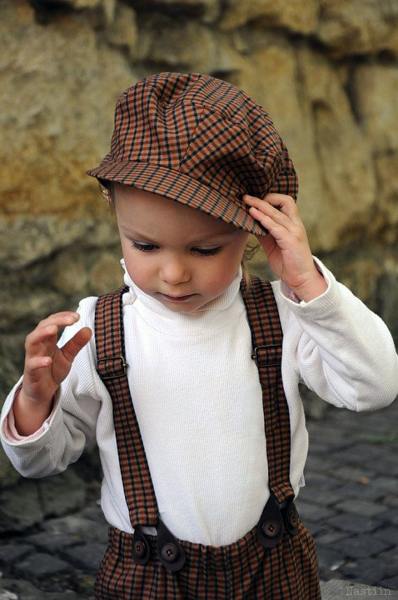 Boys tartan clothing set Boys newsboy cap Baby boy shorts with suspenders  Boy bow tie tartan outfit Boy wedding clothes Baby shower gift boy abfe8adcbe93