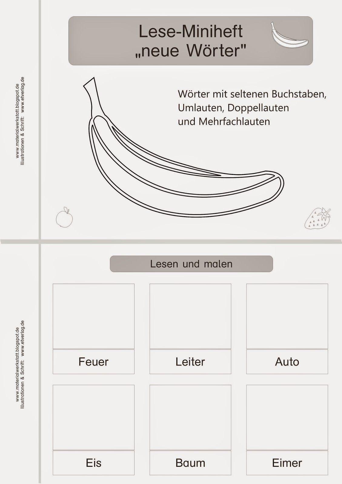 unterrichtsmaterialien ideen tipps f r die grund und f rderschule schule deutsch lesen. Black Bedroom Furniture Sets. Home Design Ideas