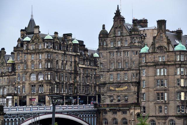 North Bridge, Edinburgh.