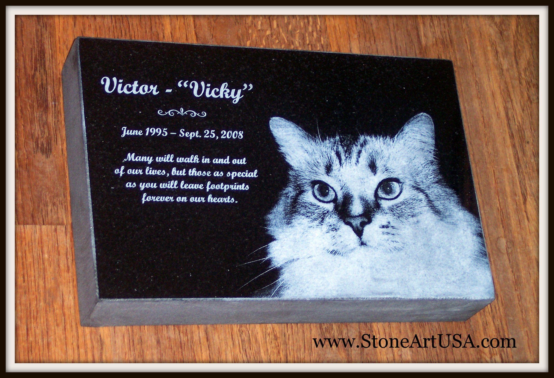 New Ideas for Pet Grave Stones Custom made memorial