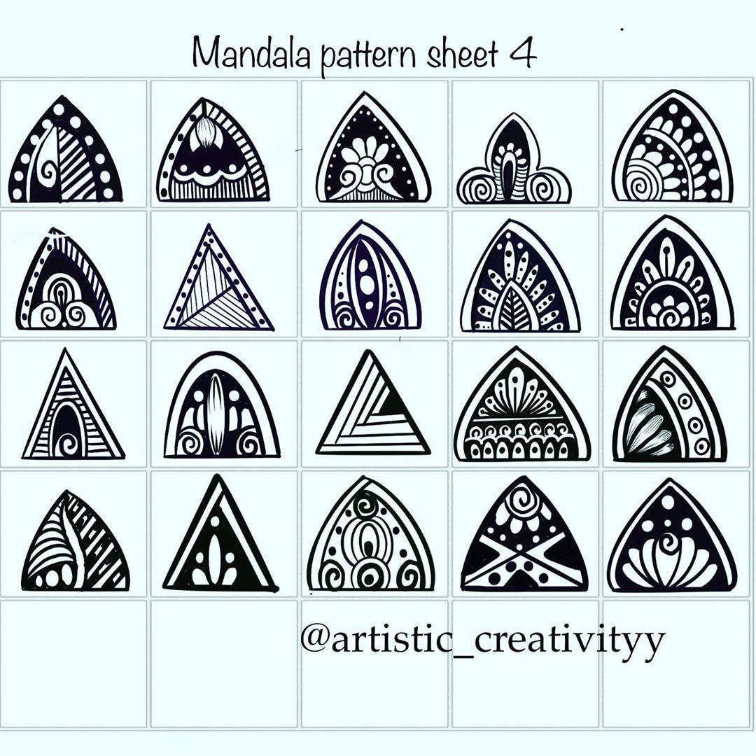 Pin By Ribelle Rosso On Drawing Reference In 2020 Mandala Art Lesson Mandala Pattern Mandala