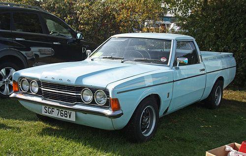 Ford Cortina Mk3 Pick Up Old Classic Cars Car Ford Old Pickup Trucks