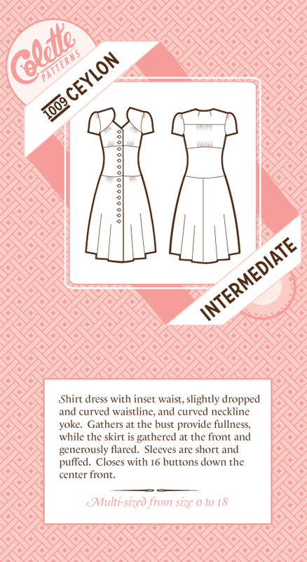 Indie Garment Pattern Tour, Week Two: Feminine Patterns | Colette ...