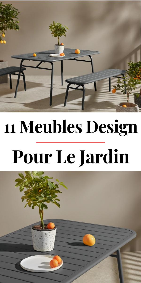 11 Mobilier & Salons de Jardin Design pour l\'Été 2019 | Idee deco ...