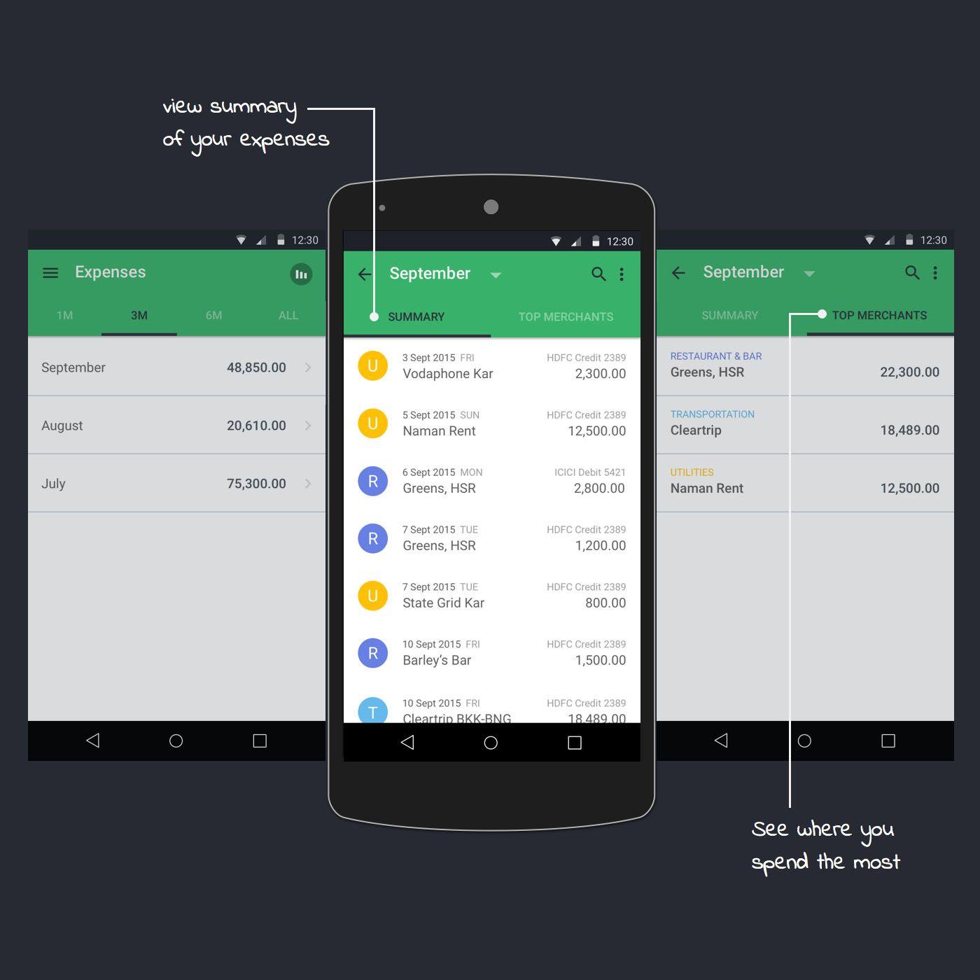 expense tracker app planner wallet savingmoney money cash